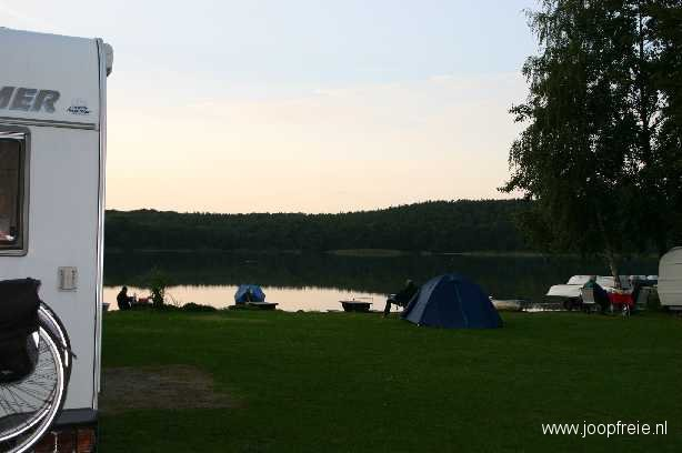 Camping 'Am Krebssee' in Bansin